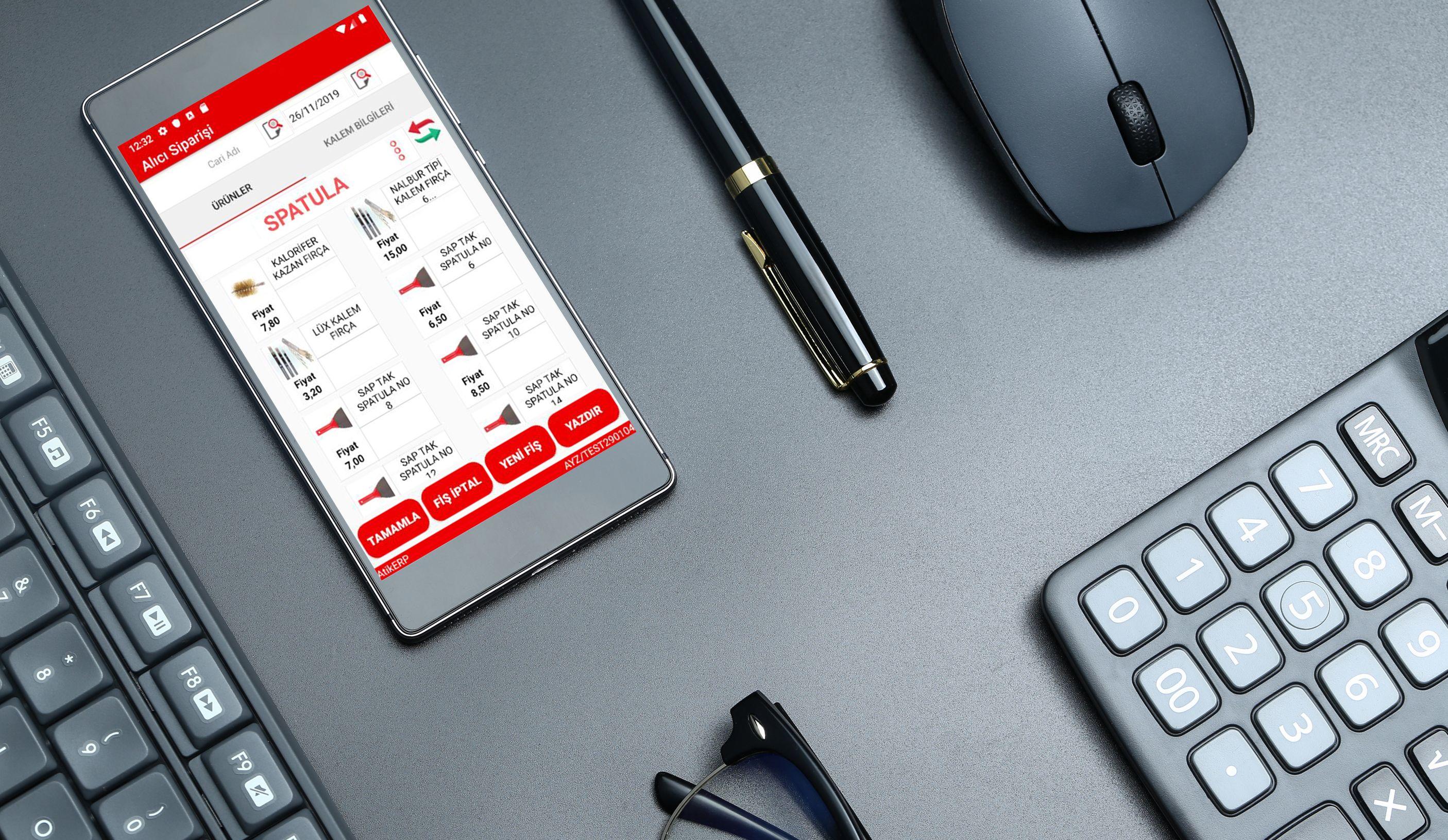 mobil erp uygulamaları